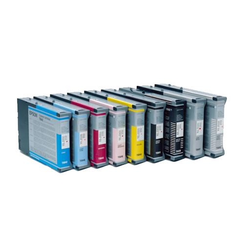 Tintenpatrone T6057 für Epson Stylus Pro 4800 110ml schwarz hell Epson T605700 Produktbild Front View L