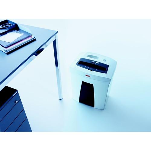 Aktenvernichter SECURIO C16 für 15-17Blatt 5,8mm Streifenschnitt HSM 1901111 (Sicherheitsstufe P-2) Produktbild Additional View 3 L