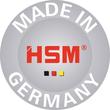 Aktenvernichter SECURIO B24 für 19-21Blatt 3,9mm Streifenschnitt HSM 1780111 (Sicherheitsstufe P-2) Produktbild Back View S