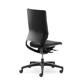 Drehstuhl BASIC Mera98 ohne Armlehnen Farbe schwarz YN009 Produktbild