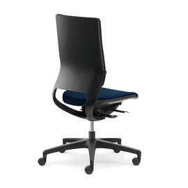 Drehstuhl BASIC Mera98 ohne Armlehnen ohne Kopfstütze Farbe 475 Chicago blau Klöber Produktbild