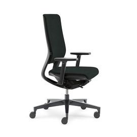 Drehstuhl BASIC Mera98 mit Armlehnen Farbe schwarz YN009 Klöber Produktbild