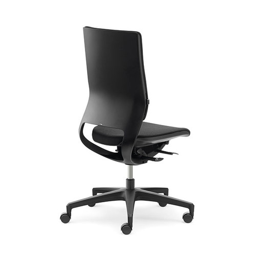 Drehstuhl STANDARD Mera98 ohne Armlehnen Farbe schwarz YN009 Klöber Produktbild Front View L