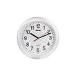 Quarz-Wanduhr PP-250 Ziffernblatt weiß, Gehäuse weiß Kunststoff Hama 00113921 Produktbild