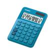 Taschenrechner 12-stelliges LC-Display 22,1x104,5x149,5mm blau Solar-/ Batteriebetrieb Casio MS-20 UC BU Produktbild