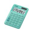 Taschenrechner 12-stelliges LC-Display 22,1x104,5x149,5mm grün Solar-/ Batteriebetrieb Casio MS-20 UC GN Produktbild