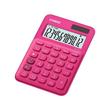 Taschenrechner 12-stelliges LC-Display 22,1x104,5x149,5mm rot Solar-/ Batteriebetrieb Casio MS-20 UC RD Produktbild