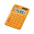 Taschenrechner 12-stelliges LC-Display 22,1x104,5x149,5mm orange Solar-/ Batteriebetrieb Casio MS-20 UC RG Produktbild