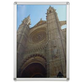 Bilderwechselrahmen mit Klemmprofil- technik 44,9x62,3x1,2cm silber Aluminium Franken BS0703 Produktbild