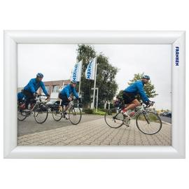 Bilderwechselrahmen mit Klemmprofil- technik für Außenbereich 24x32,7x1,2cm silber Aluminium Franken BS1701 Produktbild