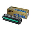 Toner C506L für Samsung CLP680/CLX6260 3500Seiten cyan SU038A Produktbild