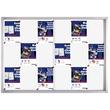 Schaukasten PRO für Innenbereich 18xA4 mit Schiebetüren 139x99x4,6cm Metall- Rückwand magnetisch Franken SK6118 Produktbild