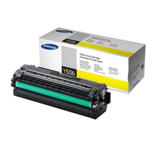 Toner Y506L für Samsung CLP680/CLX6260 3500Seiten yellow SU515A Produktbild Front View L