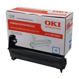 Trommel für C5850/C5950/C560n 20000Seiten cyan OKI 43870023 Produktbild