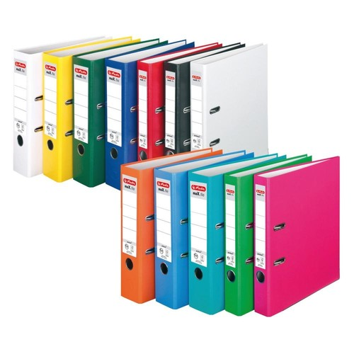 Ordner maX.file protect A4 80mm pink PP Herlitz 11053683 Produktbild Additional View 3 L