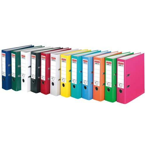 Ordner maX.file protect A4 80mm pink PP Herlitz 11053683 Produktbild Additional View 4 L