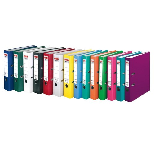 Ordner maX.file protect A4 80mm pink PP Herlitz 11053683 Produktbild Additional View 6 L