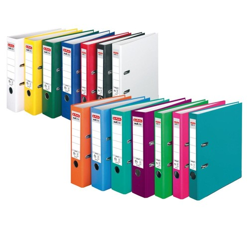 Ordner maX.file protect A4 80mm pink PP Herlitz 11053683 Produktbild Additional View 7 L