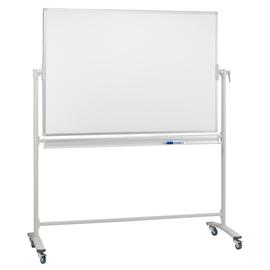 Mobile Stativ-Drehtafel 150x100cm weiß emailliert Franken ST202 Produktbild