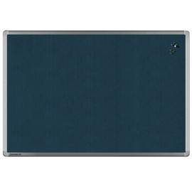 Textil-Pinnwand UNIVERSAL mit Aluminiumrahmen 150x100cm grau Legamaster 7-141963 Produktbild