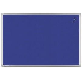 Textil-Pinnwand UNIVERSAL mit Aluminiumrahmen 90x60cm blau Legamaster 7-141843 Produktbild