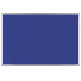 Textil-Pinnwand UNIVERSAL mit Aluminiumrahmen 150x100cm blau Legamaster 7-141863 Produktbild