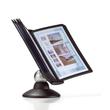 Sichttafelständer SHERPA MOTION 10 mit 10 Sichttafeln 5606 + Reiter schwarz drehbar Durable 5587-01 Produktbild Additional View 2 S