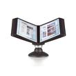 Sichttafelständer SHERPA MOTION 10 mit 10 Sichttafeln 5606 + Reiter schwarz drehbar Durable 5587-01 Produktbild Additional View 3 S