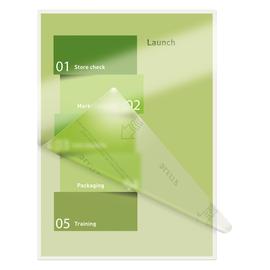 Laminierfolien A4 216x303mm UDT 80µ glänzend Leitz 7478-00-00 (PACK=100 STÜCK) Produktbild