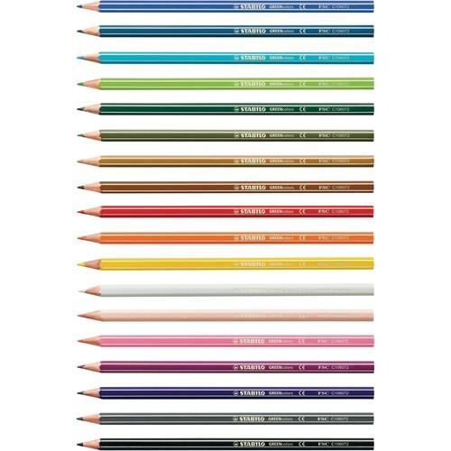 Farbstifte GREENcolors sortiert Stabilo 6019/2-181 (PACK=18 STÜCK) Produktbild Additional View 5 L