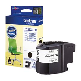 Tintenpatrone für MFC-J5320/5600/5720 2400 Seiten schwarz Brother LC-229XLBK Produktbild