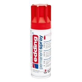 Permanent Spray 5200 200ml verkehrsrot seidenmatt Edding 4-5200902 Produktbild
