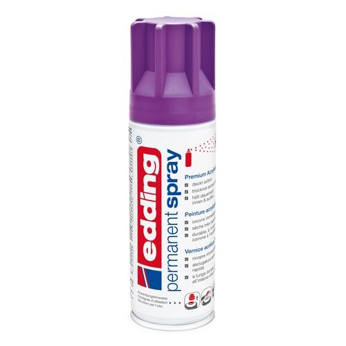 Permanent Spray 5200 200ml beere seidenmatt Edding 4-5200910 Produktbild Front View L