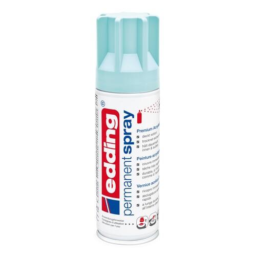 Permanent Spray 5200 200ml pastellblau seidenmatt Edding 4-5200916 Produktbild Front View L