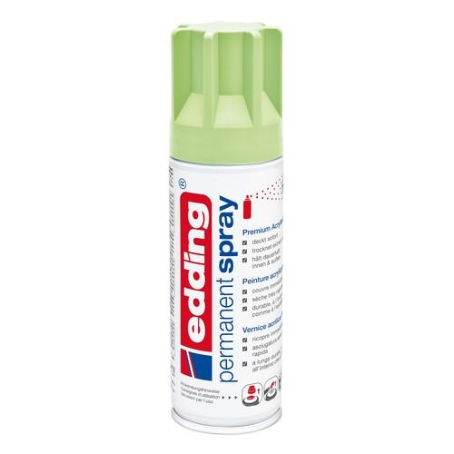 Permanent Spray 5200 200ml pastellgrün seidenmatt Edding 4-5200917 Produktbild Front View L