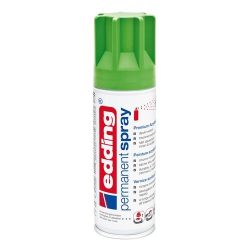 Permanent Spray 5200 200ml gelbgrün seidenmatt Edding 4-5200927 Produktbild Front View L