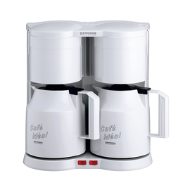 Kaffeemaschine Duo SEVERIN max. 8 Tassen KA 5827 weiß Produktbild