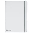 Notizheft flex A4 liniert+kariert transparent 2x40 Blatt PP Herlitz 11361425 Produktbild