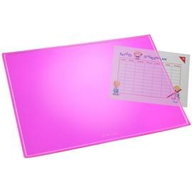 Schreibunterlage Durella Transluzent 40x53cm pink Läufer 32625 Produktbild