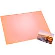 Schreibunterlage Durella Transluzent 40x53cm orange Läufer 32626 Produktbild