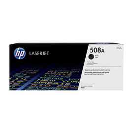 Toner 508A für Color LaserJet Enterprise M550 6000 Seiten schwarz HP CF360A Produktbild