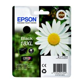 Tintenpatrone 18XL für Epson Expression Home XP-102/202/205 11,5ml schwarz Epson T181140 Produktbild