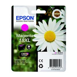 Tintenpatrone 18XL für Epson Expression Home XP-102/202/205 6,6ml magenta Epson T181340 Produktbild
