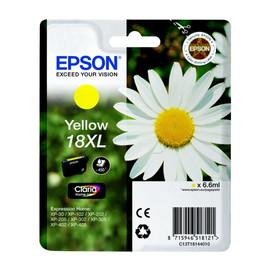 Tintenpatrone 18XL für Epson Expression Home XP-102/202/205 6,6ml yellow Epson T181440 Produktbild