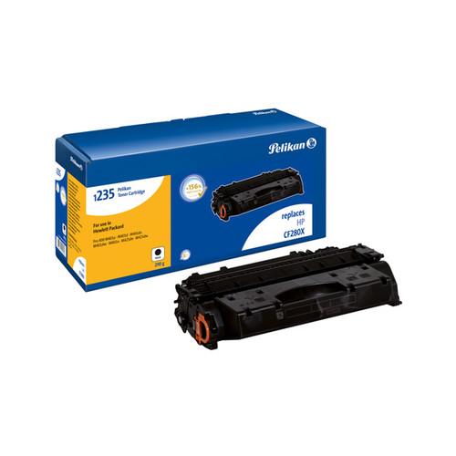 Toner Gr. 1235 (CF280X) für Laserjet Pro 400 7000 Seiten schwarz Pelikan 4225030 Produktbild Front View L
