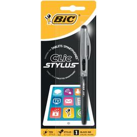 Kugelschreiber mit Touchpen 2in1 Stylus 0,4mm sortiert metallic silber, blau Bic 905449 Produktbild