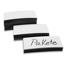 Magnetetiketten 100x20x0,6mm weiß Magnetoplan 1532706 (PACK=100 STÜCK) Produktbild