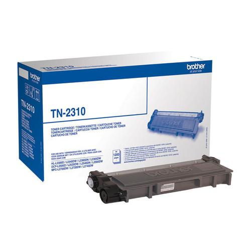 Toner für DCP-L2500/2700/HL-L2300 1200 Seiten schwarz Brother TN-2310 Produktbild Front View L
