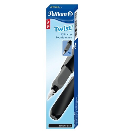 Schulfüller Twist P457 M black Pelikan 946806 Produktbild