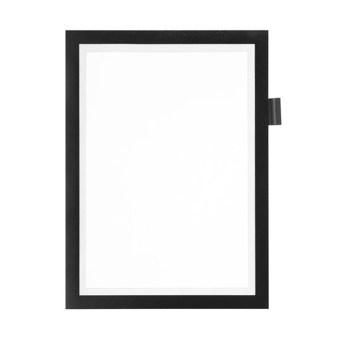 Informationsrahmen DURAFRAME NOTE A4 schwarz selbstklebend Durable 4993-01 Produktbild